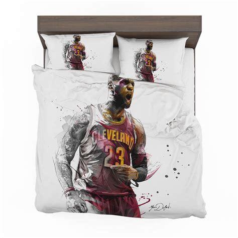 lebron james basketball nba bedding set ebeddingsets