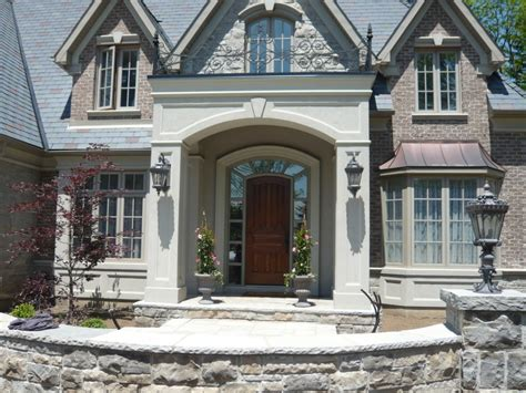 home design before and after kingsway stucco accent pictures