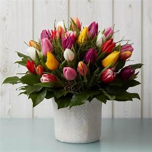 Bilder Von Blumenstrauß : blumenstrau tulpen blumenversand edelwei ~ Buech-reservation.com Haus und Dekorationen