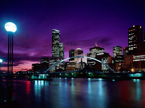 Melbourne Sunset Wallpapers And Images Wallpapers