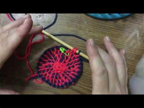 tunisian crochet    dice bag youtube