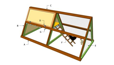 simple chicken coop plans a frame chicken coop plans free outdoor plans diy shed