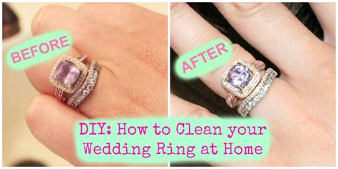 How To Bathe Like A Diy How To Clean Your Wedding Ring At Home