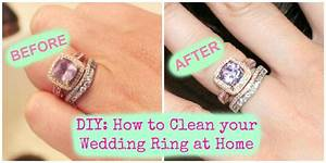 Diy how to clean your wedding ring at home youtube for How to make a wedding ring