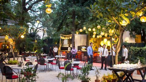 indian garden restaurant foreigners retreat in delhi media india