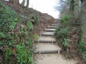 Escalier Rondin Bois Exterieur by Nos R 233 Alisations Avant Le Poitevin Fils Paysage