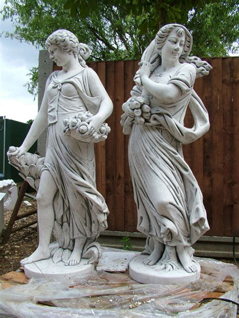 awesome garden statues and garden fountains to enliven