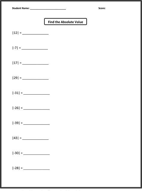 free grade 5 math worksheets activity shelter