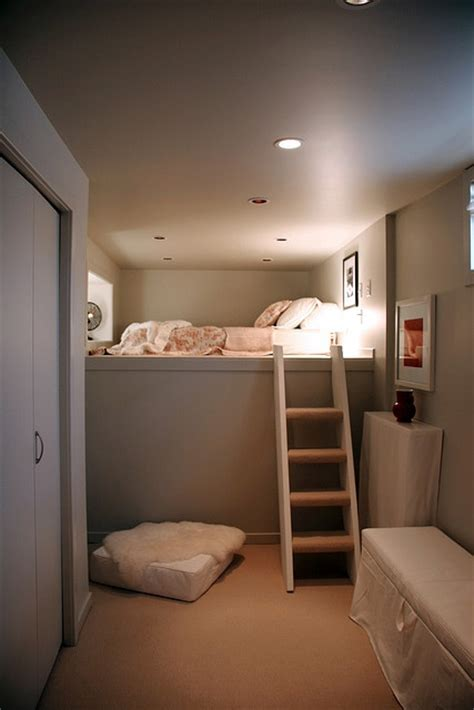 1000 ideas about small basement bedroom on