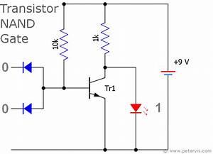 nand gate using diode circuit With circuit logic gates