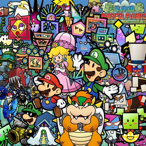 Super Paper Mario Game Giant Bomb
