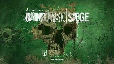 Rainbow Six Siege S Theme Tom Clancy 39 S Rainbow Six Siege Skull Menu Theme