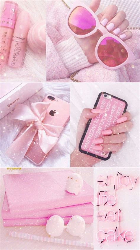 Aesthetic Wallpaper Girly by Mei Lockdcreens ɠιr ℓιʂɧ щąιιʑ In 2019 Pink