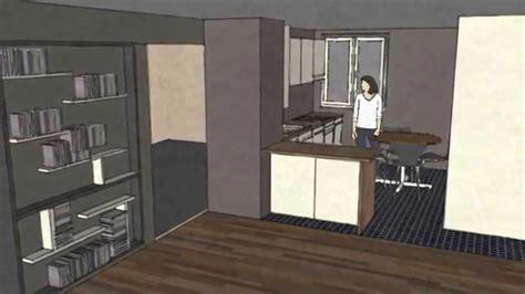 cuisine okea dessiner une cuisine sketchup