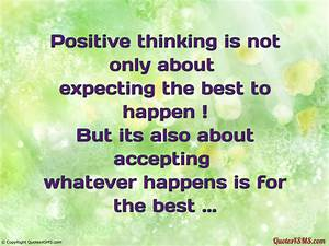 Positive Thinking Quotes Wallpaper. QuotesGram