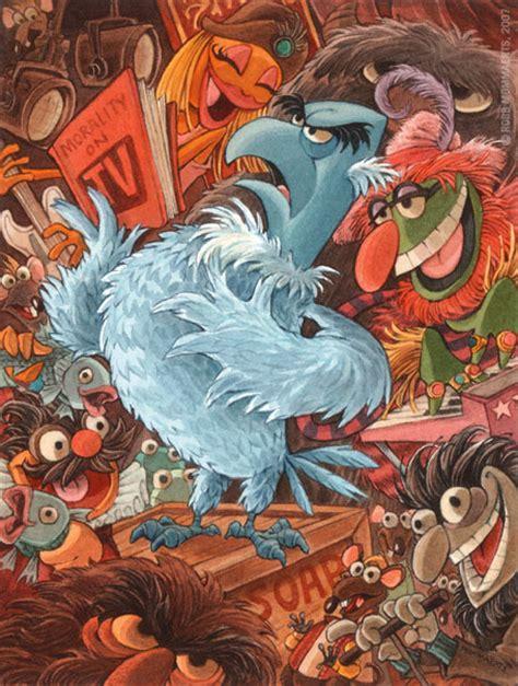 super cool muppets fan art