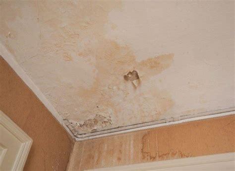 condensation sur mur interieur infiltrazioni sul soffitto e risarcimento danno