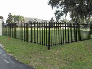 Modern Metal Fences And Gates And Through Metal Fence