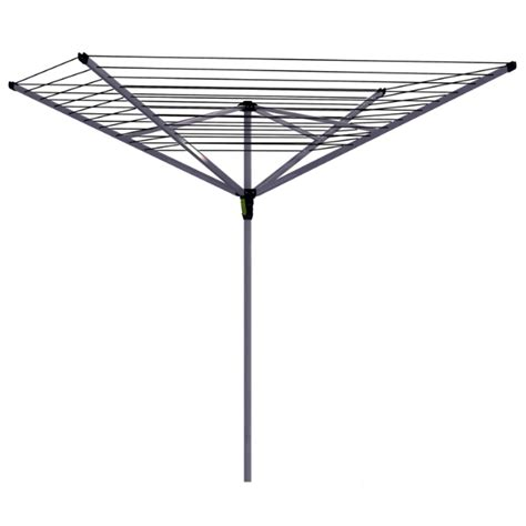 shop style selections mixed material umbrella clothesline