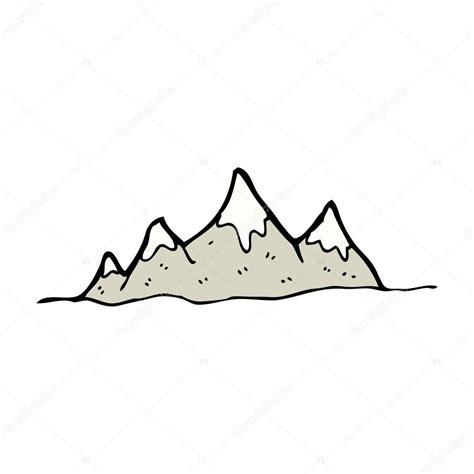Imágenes: cordillera animada gama de la montaña Vector