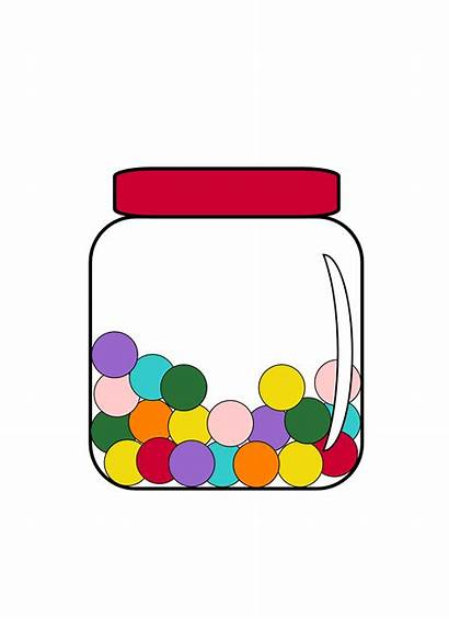 Capacity Clipart Volume Such Jar Candy Box