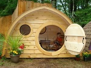 Gartengestaltung Mit Holz : kinderhaus ein m rchenhaftes abenteuer ~ Watch28wear.com Haus und Dekorationen