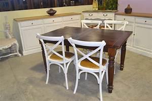 Sedia provenzale legno bianco shabby Etnico Outlet mobili