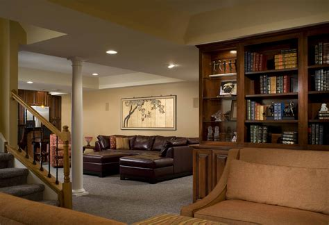 Remodel Ideas For Living Room by Cool Basement Ideas For Entertainment Traba Homes