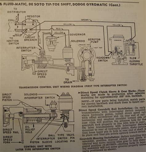 1946 Dodge Wiring Diagram by 1947 Desoto Wiring Diagram P15 D24 Forum P15 D24