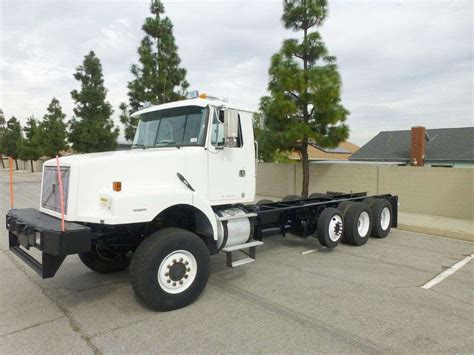 volvo heavy 1999 volvo wg64 heavy duty cab chassis truck for sale