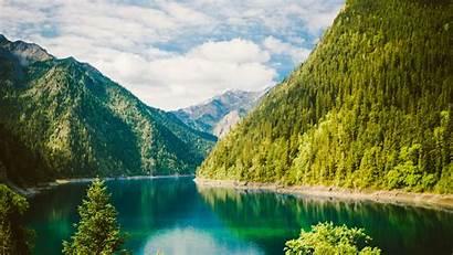 Nature Mountains Forest Lake 4k Mountain Desktop