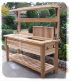 17 best ideas about potting bench bar on patio