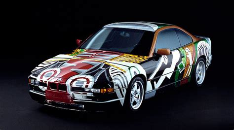 evolution   bmw art car twistedsifter