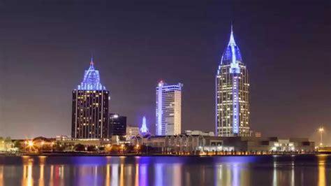 Mobile, Al City Skyline 24hrs Loop2 Youtube