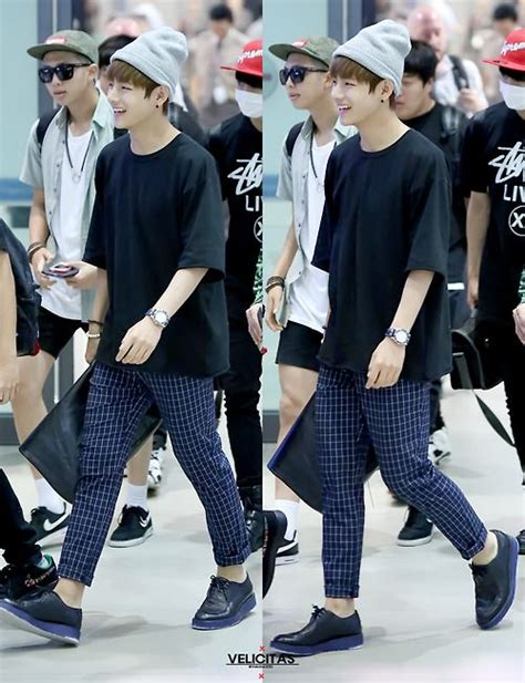 Airport fashion BTSu0026#39; V | exo airport outfits KPOP AIRPORT airport fashion | Pinterest ...