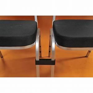 Chaise Tissu Noir : chaise tissu noir orph e sabannes r ception ~ Teatrodelosmanantiales.com Idées de Décoration