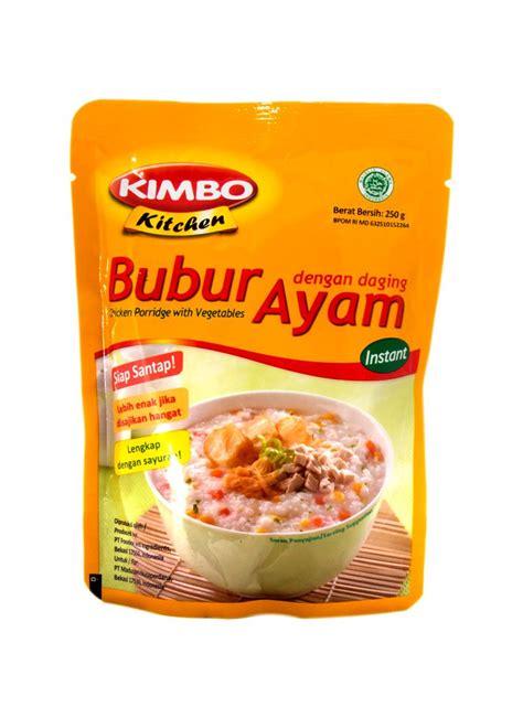 kimbo kitchen bubur instant ayam pck  klikindomaret