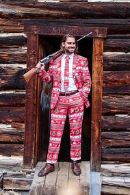 ugly christmas sweater suit - Christmas Sweater Suit