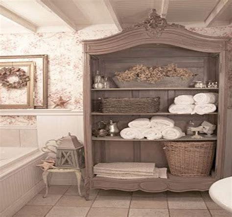 shabby chic bathroom wallpaper shabby chic bathroom for the home pinterest
