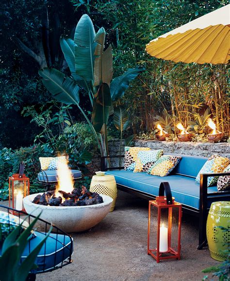 tropical patio inside out inspiration for the perfect outdoor living room huffpost
