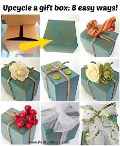 Decorate, Gift, Box, Ideas, 8, Easy, Ways