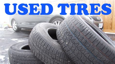 Used Tire Buying Guide - YouTube