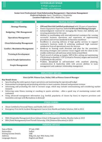 naukri resume sample  resume ideas