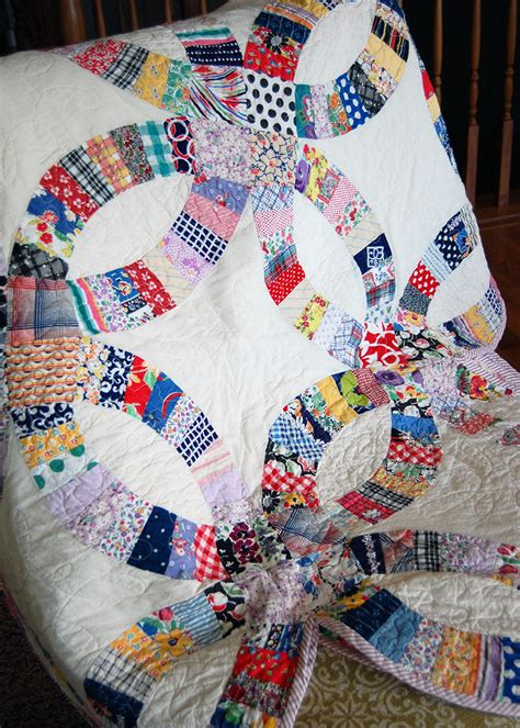 quilts we ve made wedding ring the cloth parcel
