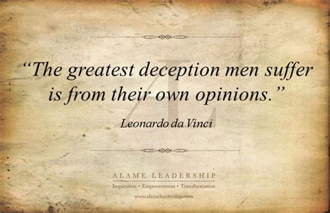 al inspiring quote   deception alame leadership