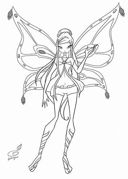 Roxy Enchantix Fan Winx Coloring