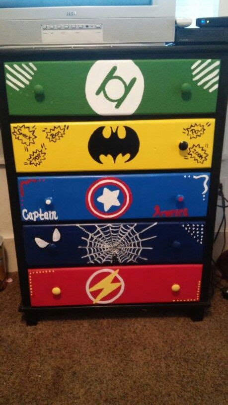Kinderzimmer Ideen Superhelden by Dresser Is Complete Coole Ideen