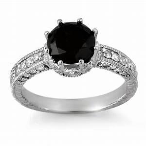 black gold pink diamond ring wedding set hd beautiful With black diamond wedding rings