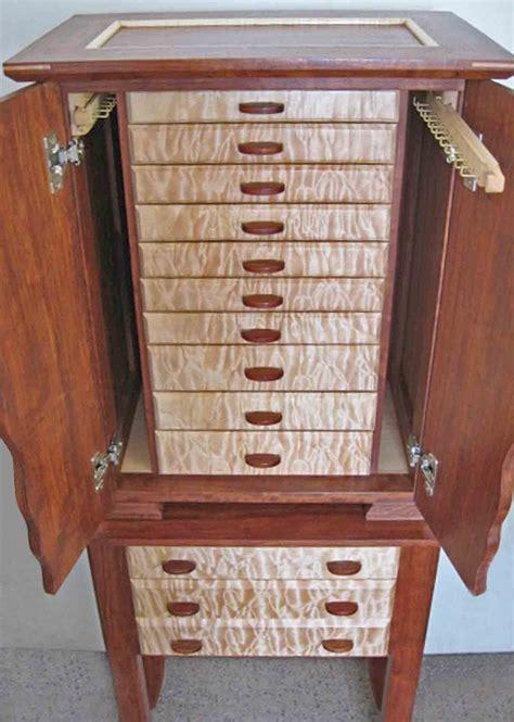 necklace holder beautiful handmade armoire jewelry box