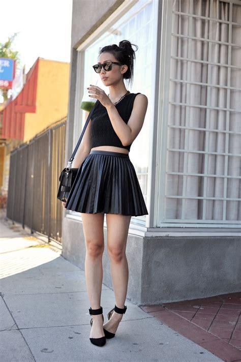 26. Faux Leather Skirt - Outfit Ideas for Coachella 2015 ... u2192 ud83dudc57u2026